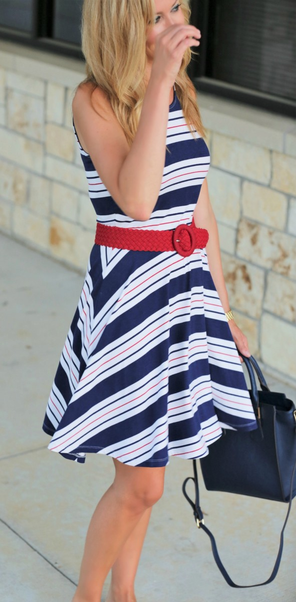 Fourth of July Dress Haute Humid