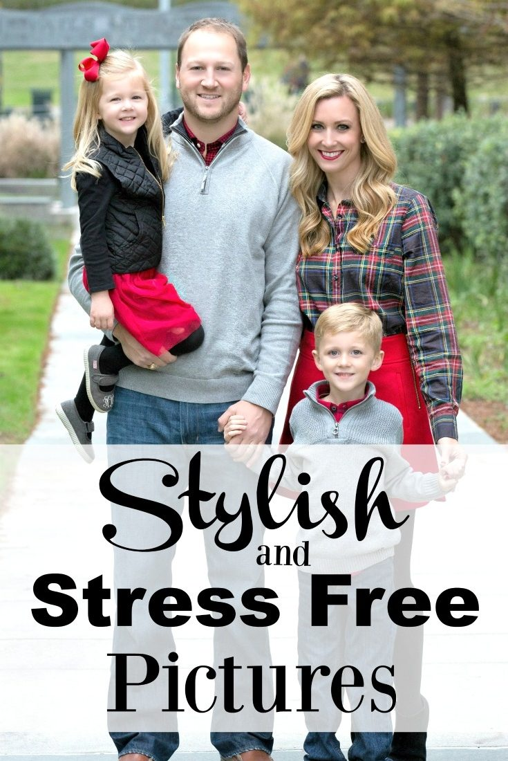 Stylish and Stress Free Family Pictures