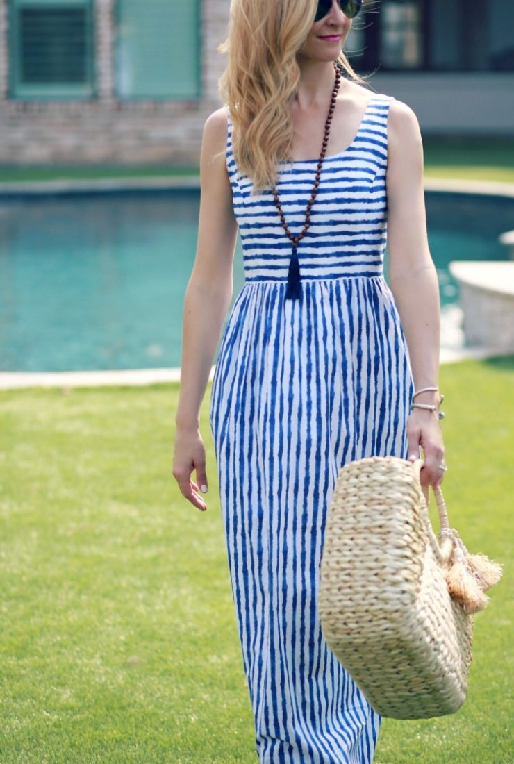 Spring Maxi Dress with Vineyard Vines