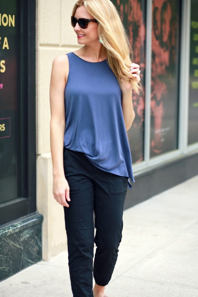 Everyday Athleisure Wear and Friday Favorites by lifestyle blogger Sara from Haute and humid