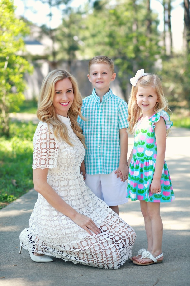 Easter Dress 2 Ways
