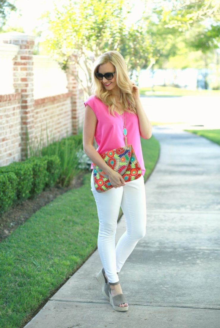 Friday Favorites + White Jeans for Women