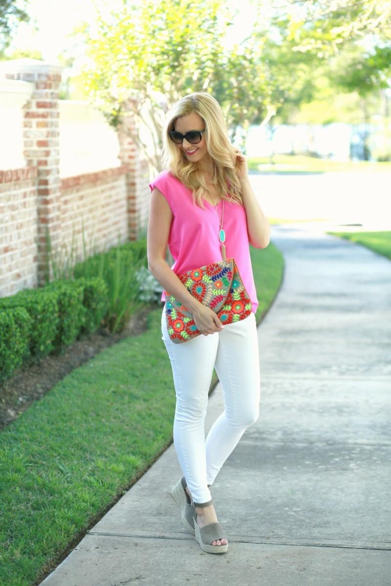 Friday Favorites + White Jeans for Women