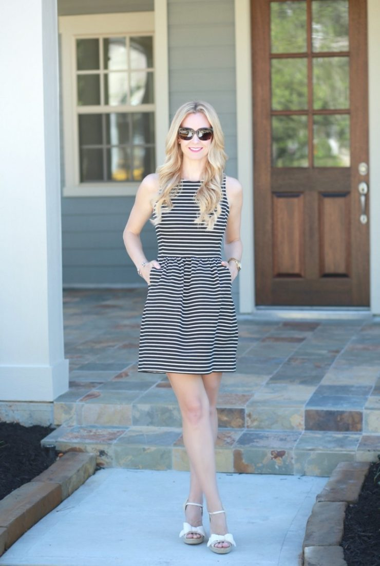 The Best Striped Dress Styled Two Ways and Kitchen Remodel Inspiration Ideas