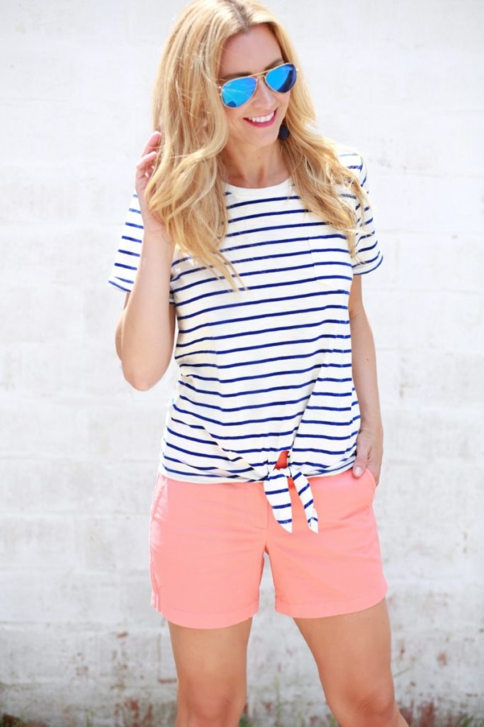 Friday Favorites- J. Crew Factory Sale Haul by fashion blogger Sara of Haute & Humid