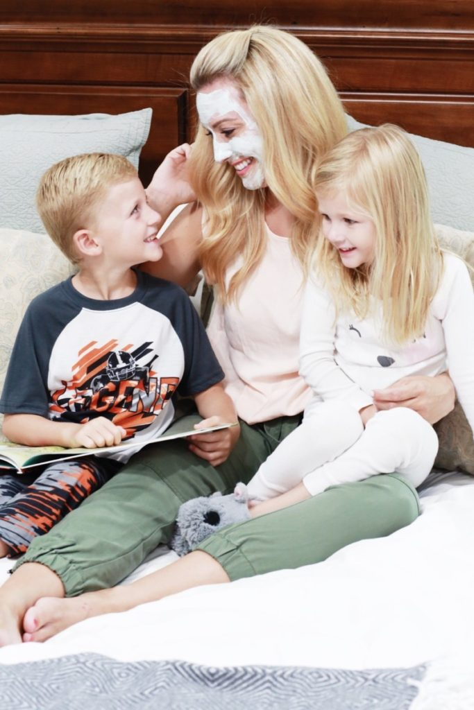 3 Tips For The Busy Mom's Skincare Routine by Houston blogger Haute & Humid