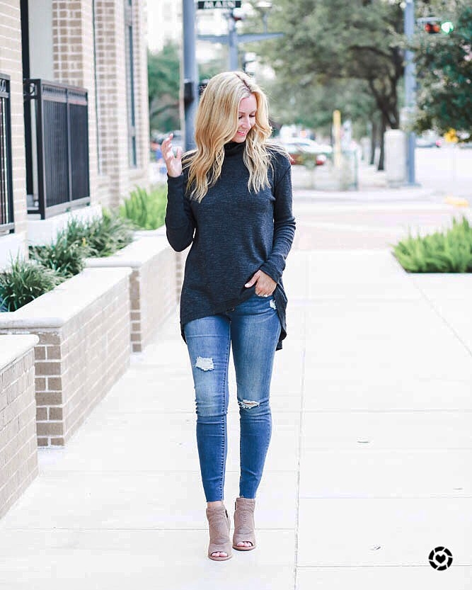 distressed denim - Top 5 Favorite Fall Fashion Transitional Pieces From Shopbop by Houston fashion blogger Haute & Humid
