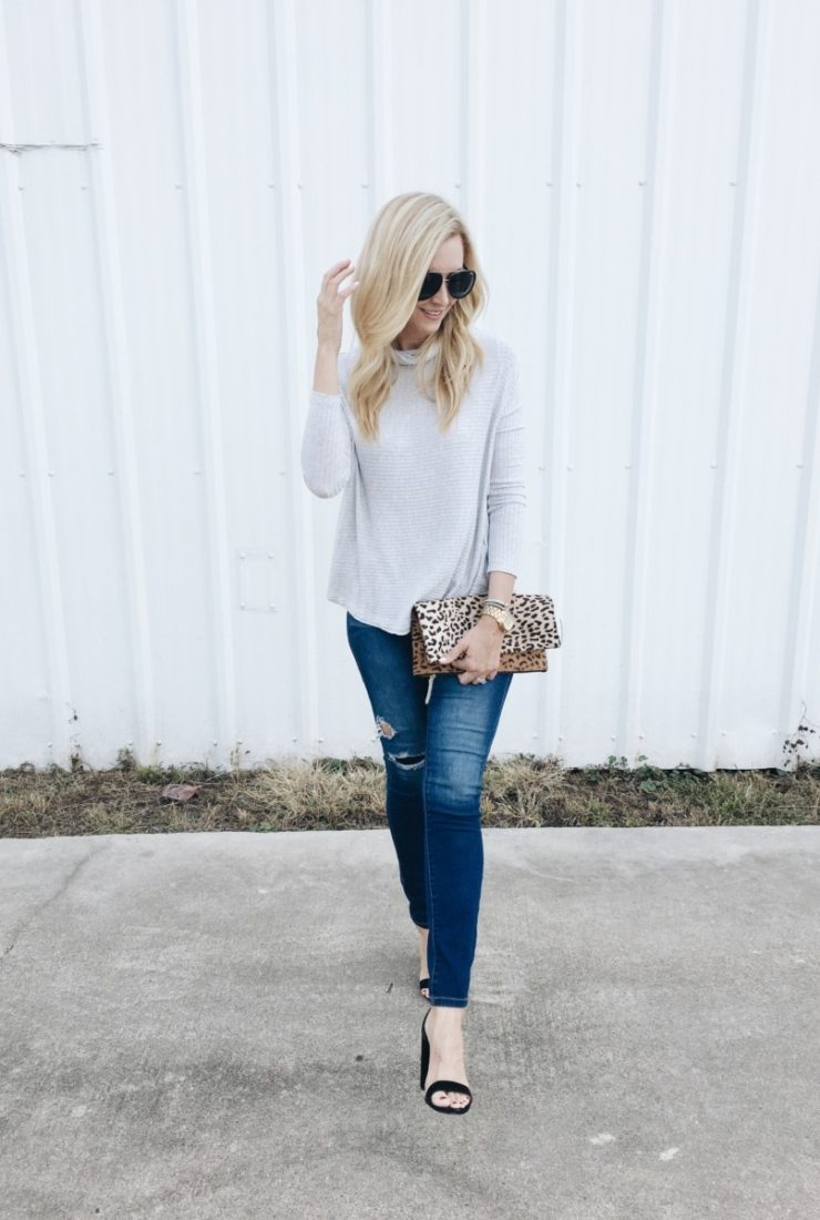Date Night Outfit: Perfect Peek-A-Boo Back Top