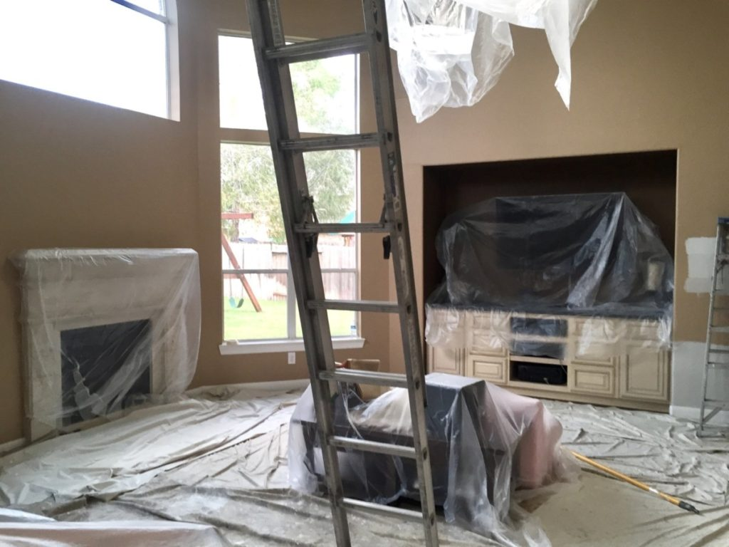 home remodel - Home Remodel Update: The Beginning by Houston style blogger Haute & Humid