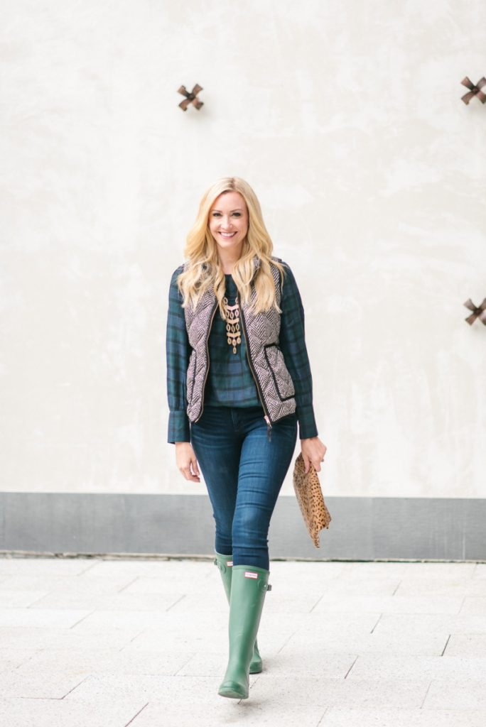 plaid tops - 9 Fabulously Festive Plaid Tops by Houston fashion blogger Haute & Humid