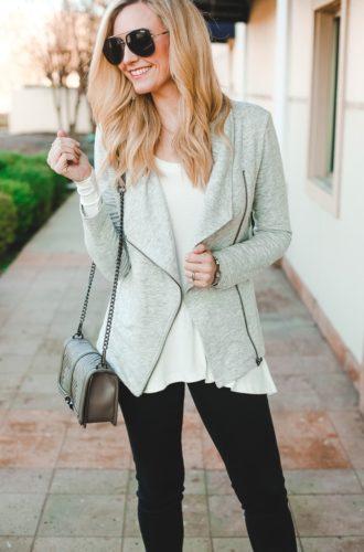 Transitional Spring Jacket Styled 2 Ways