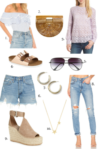 10 Feminine Spring Wardrobe Essentials