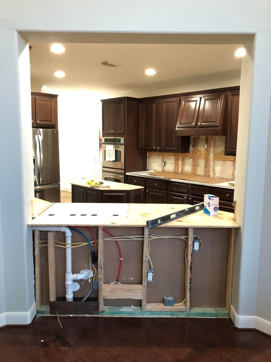 kitchen remodel - Our Home Improvement Update by popular Houston lifestyle blogger Haute & Humid