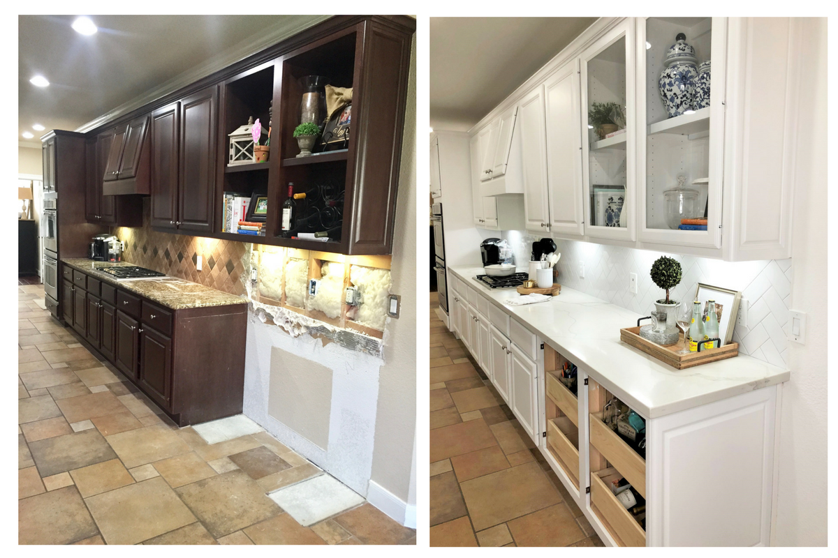 Kitchen Remodel Before And After Our Home