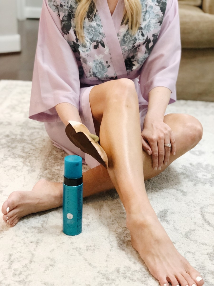 Brand Name vs. Budget Sunless Tanner Review by popular Houston beauty blogger Haute & Humid