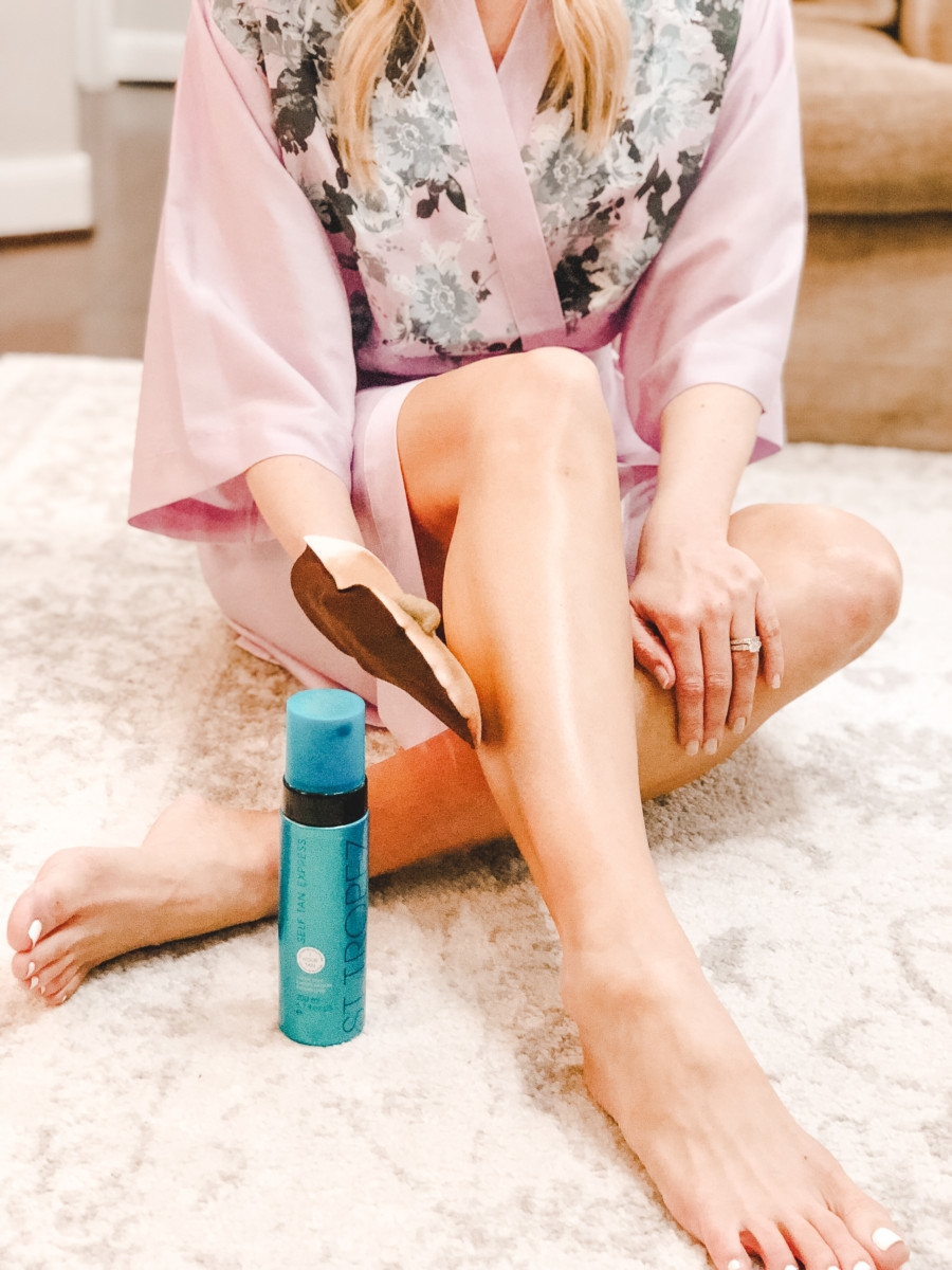 5 Steps For Perfect Summer Legs featured by popular Houston style blogger, Haute & Humid