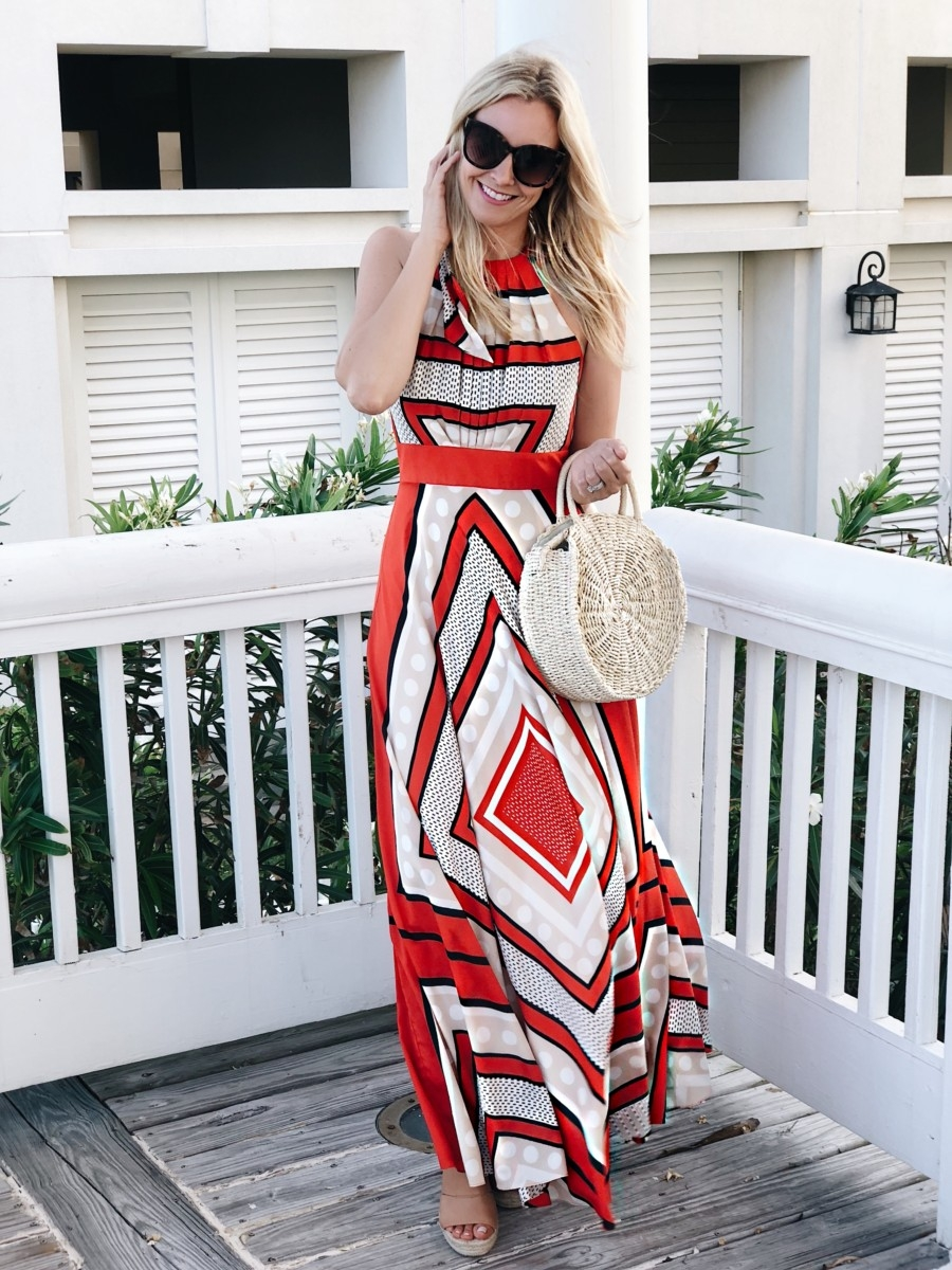 maxi dress - 3 Alternatives To Summer Shorts featured by popular Houston fashion blogger, Haute & Humid