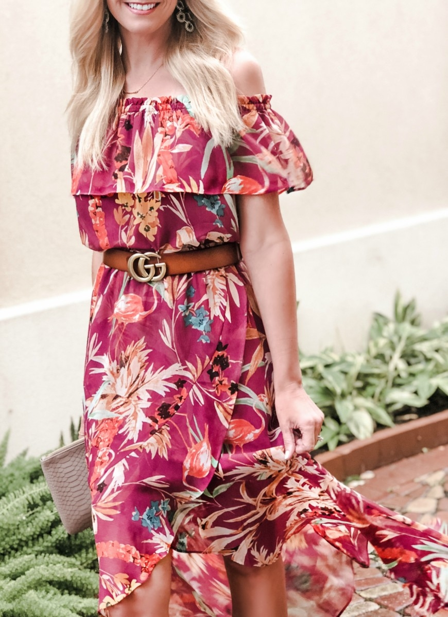 Summer Maxi Dresses featured by popular Houston fashion blogger, Haute & Humid