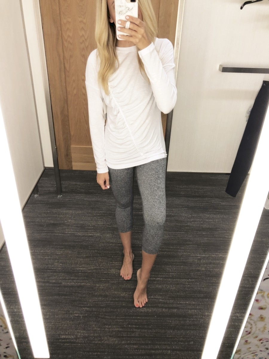 high wasted leggings - 15 Nordstrom Anniversary Sale Favorites $50 or Less featured by popular Houston style blogger Haute & Humid