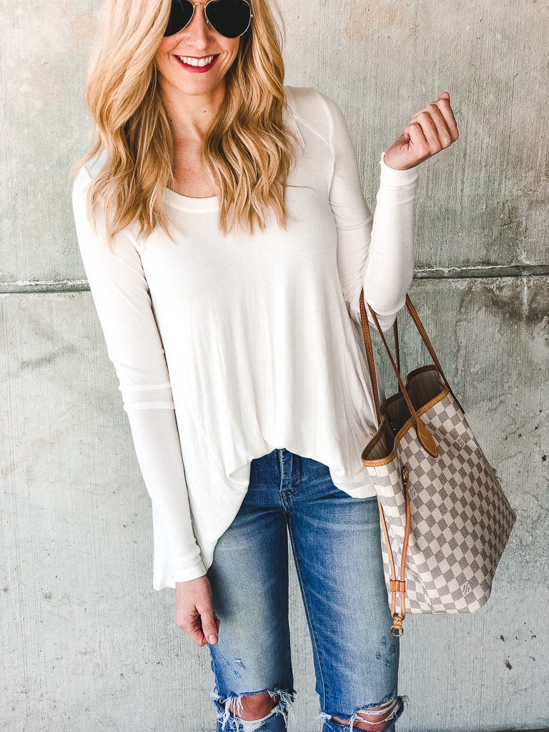 free people january top - 15 Nordstrom Anniversary Sale Favorites $50 or Less featured by popular Houston style blogger Haute & Humid