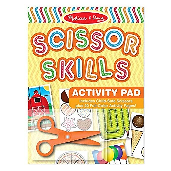 scissor skills | How And Why We Decided To Reduce Screen Time featured by popular Houston life and style blogger Haute & Humid