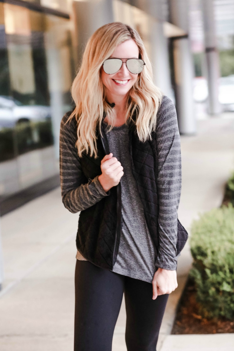 affordable workout clothes | Walmart | Affordable Fall Fashion featured by top Houston fashion blog Haute & Humid