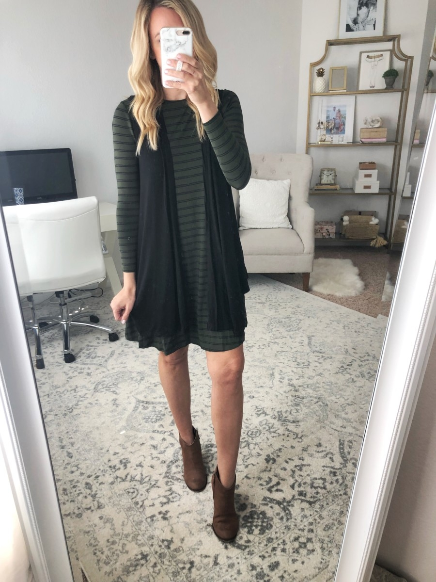 casual dress | Old Navy Fall Favorites Sale Round Up featured by top Houston fashion blog Haute & Humid