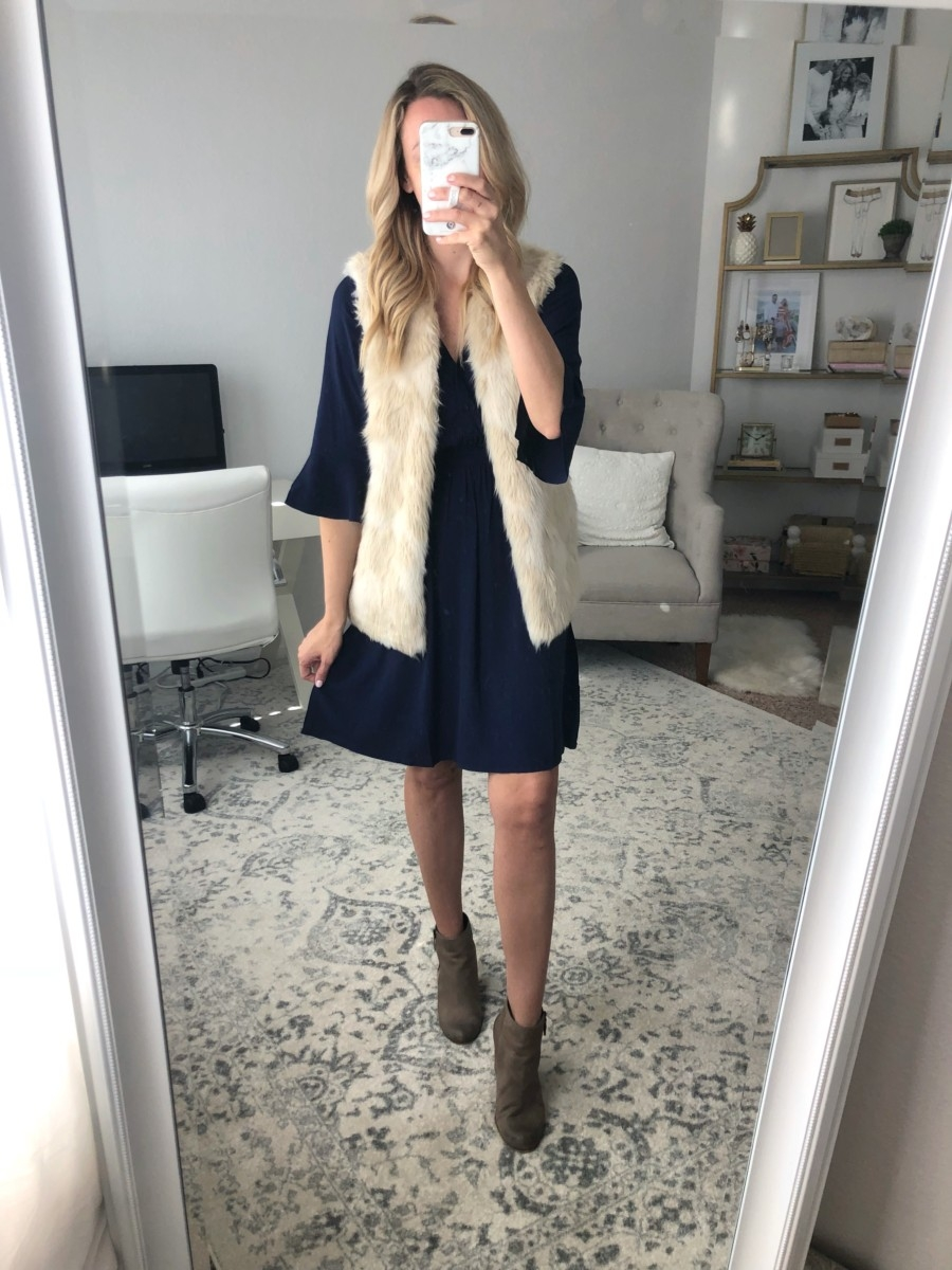 faux fur vest | Old Navy Fall Favorites Sale Round Up featured by top Houston fashion blog Haute & Humid