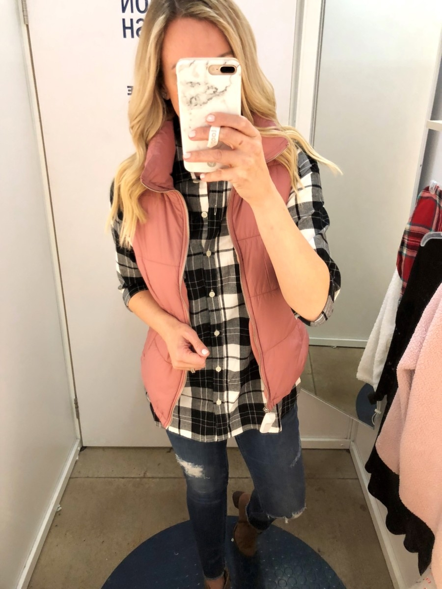 puffer vest | Old Navy Fall Favorites Sale Round Up featured by top Houston fashion blog Haute & Humid