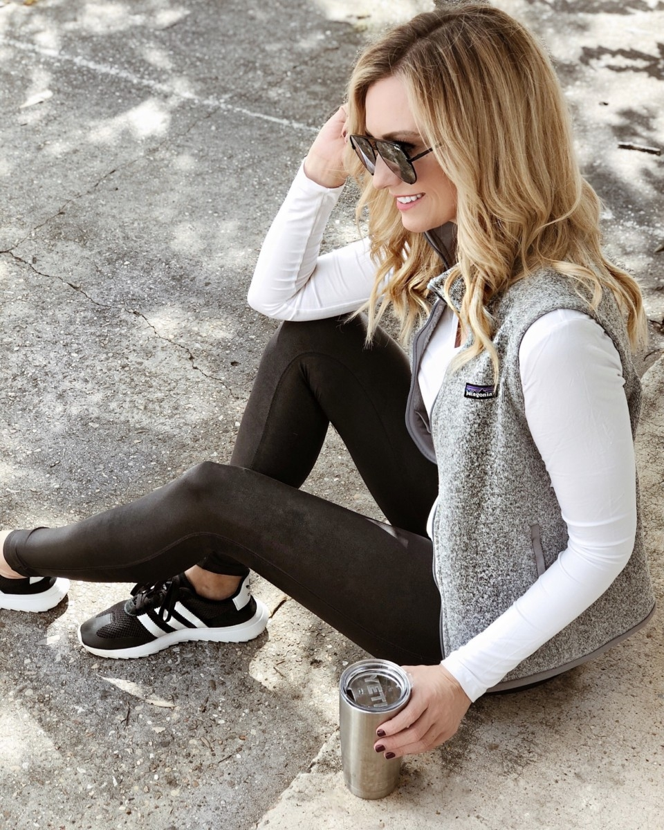 spanx leggings sale | Patagonia | Adidas | Fashion | Fall Fashion Favorites | Nordstrom Black Friday And Cyber Monday Sales featured by top Houston fashion blog Haute & Humid
