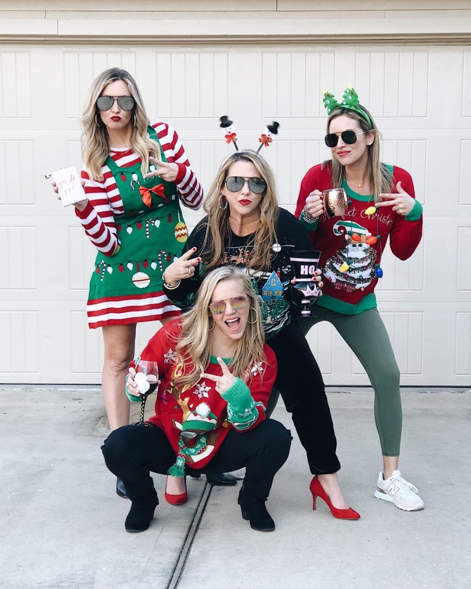 ugly christmas sweater | 5 Easy Christmas Treats For Friends And Neighbors featured by top Houston lifestyle blog Haute & Humid