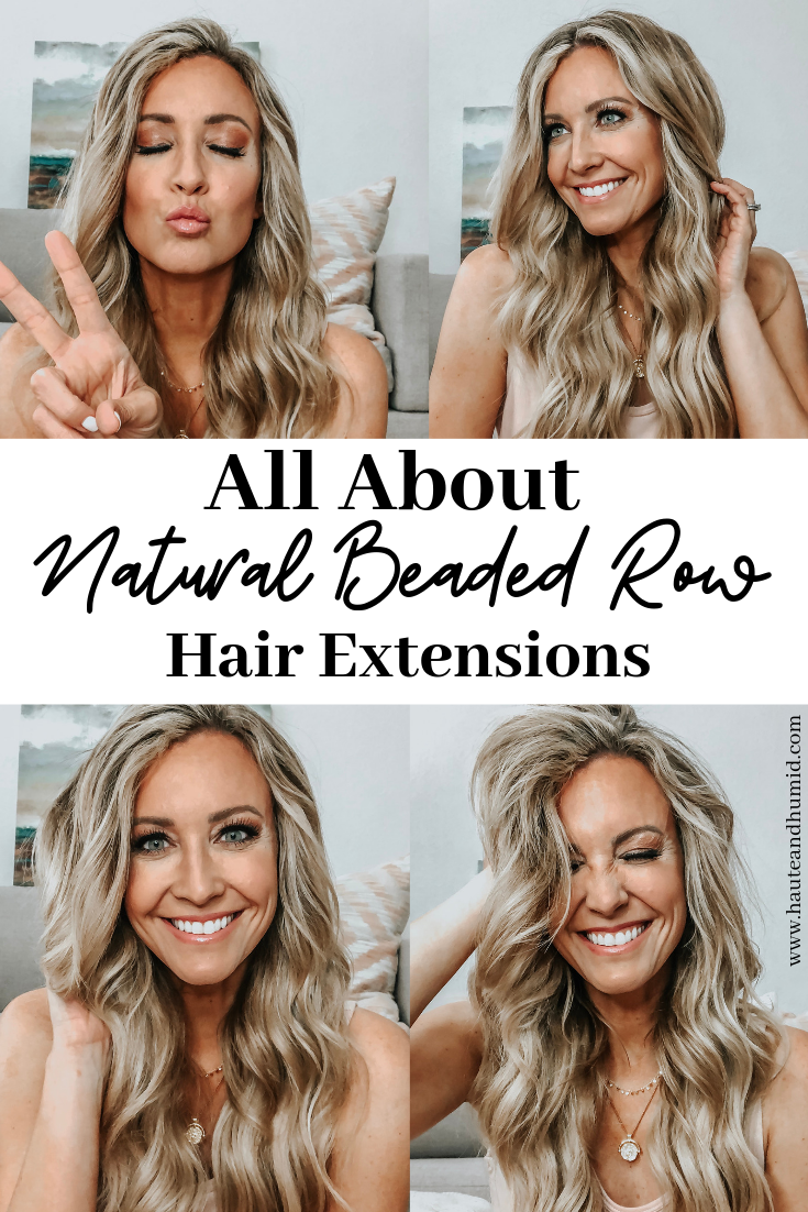 How to Care for your Natural Beaded Row Hair Extensions featured by top US beauty blog, Haute & Humid