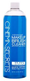makeup brush cleaner | 15 Best Amazon Beauty Products by popular Houston beauty blog, Haute and Humid: image of Cinema Secrets Makeup Brush Cleaner.